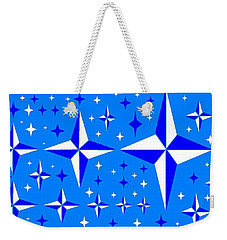Starlight 9 Weekender Tote Bag by Linda Velasquez