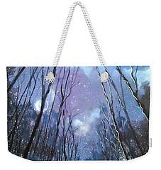 Starlight Weekender Tote Bag by Barbara O'Toole