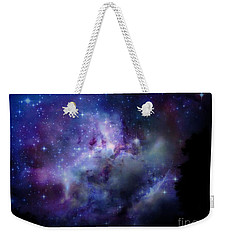 Starlight Weekender Tote Bag by Christy Ricafrente