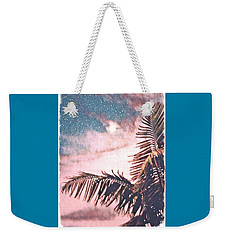 Starlight Palm Weekender Tote Bag