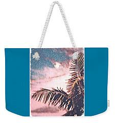 Starlight Palm Weekender Tote Bag
