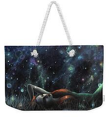 Starlight Serenade Weekender Tote Bag