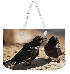 Starling Discussion. Weekender Tote Bag