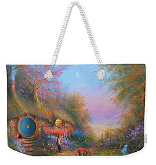 Bilbo Baggins Weekender Tote Bag by Joe Gilronan