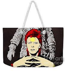 Starman Bowie Weekender Tote Bag