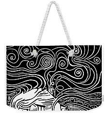Starry Cabin Weekender Tote Bag