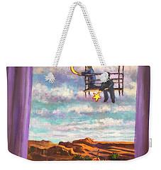Starry Day Weekender Tote Bag