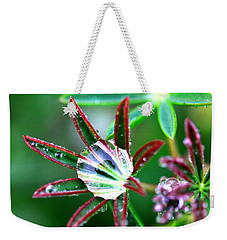 Starry Droplets Weekender Tote Bag