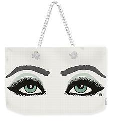 Starry Eyed Weekender Tote Bag
