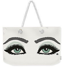 Starry Eyed Weekender Tote Bag
