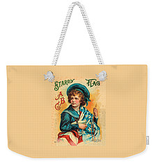Starry Flag Cover Abc Book Weekender Tote Bag