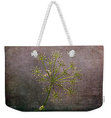 Weekender Tote Bag featuring the photograph Starry Flower by Randi Grace Nilsberg