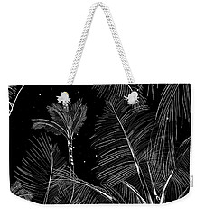 Starry Moonlit Palms Weekender Tote Bag