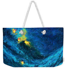 Starry Night Nebula  Weekender Tote Bag
