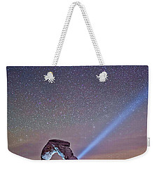 Starry Night Pointer Weekender Tote Bag