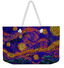 Starry Path Weekender Tote Bag