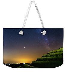 Starry Sky Above Me Weekender Tote Bag