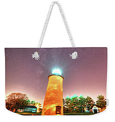 Starry Sky Over The Newburyport Harbor Light Weekender Tote Bag