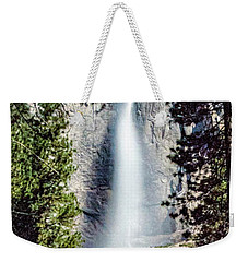 Starry Yosemite Falls Weekender Tote Bag