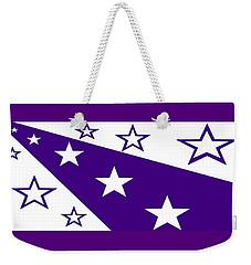 'stars 21' Or 'purple Stars' Weekender Tote Bag