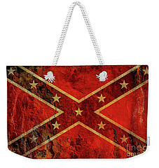 Stars And Bars Confederate Flag Weekender Tote Bag