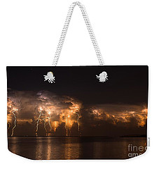 Stars And Bolts Weekender Tote Bag