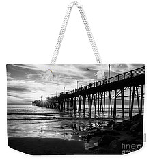 Stars And Swirls In Oceanside Weekender Tote Bag