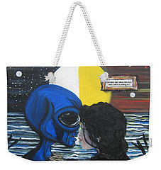 Stars Are Setting Suns Weekender Tote Bag