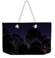 Weekender Tote Bag featuring the photograph Stars by Brian Jones