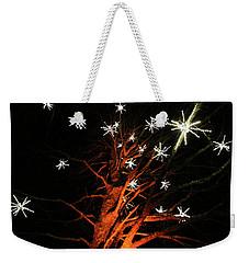 Stars In The Tree Weekender Tote Bag
