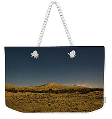 Stars Over Kelso Dunes Weekender Tote Bag