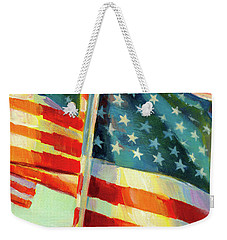Stars, Stripes, And Cowboys Forever Weekender Tote Bag