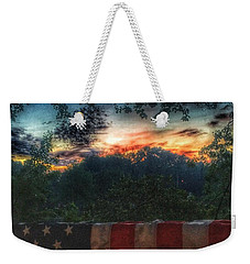 Stars Stripes And Skies Forever Weekender Tote Bag by Jason Nicholas