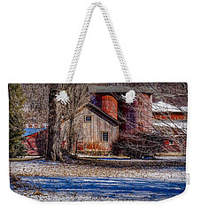 Weekender Tote Bag featuring the photograph Starting To See Red by Kendall McKernon