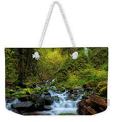 Starvation Creek And Falls Weekender Tote Bag