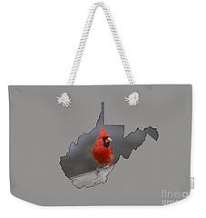 State Bird Of West Virginia Weekender Tote Bag