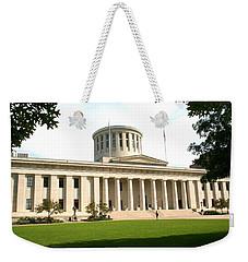 State Capitol Of Ohio Weekender Tote Bag
