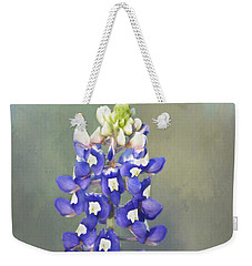 Weekender Tote Bag featuring the photograph State Flower Of Texas by David and Carol Kelly