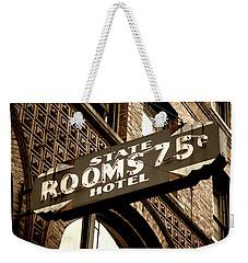 State Hotel - Seattle Weekender Tote Bag