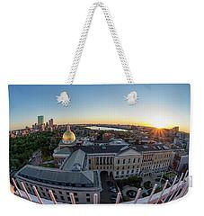 State House,fisheye View Weekender Tote Bag