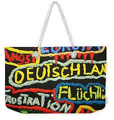 State Of Europe Weekender Tote Bag