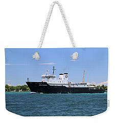State Of Michigan Training Vessel Weekender Tote Bag
