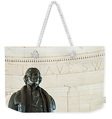 Stately Profile Weekender Tote Bag