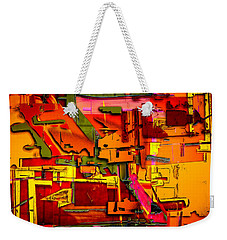 Industrial Autumn Weekender Tote Bag