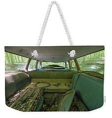 Station Wagon In Color Weekender Tote Bag