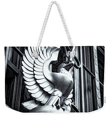 Statue In Monochrome Hdr Weekender Tote Bag