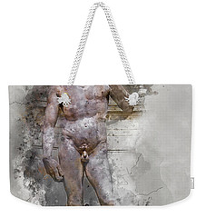 Statue Of David Weekender Tote Bag