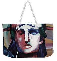Statue Of Liberty Hb5t Weekender Tote Bag by Gull G