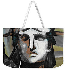 statue of liberty KJ78 Weekender Tote Bag by Gull G