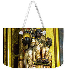 Statue Of The Virgin Mary Weekender Tote Bag